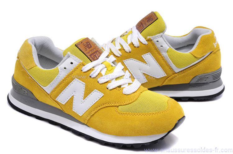 new balance femme jaune